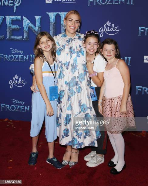 Busy Philipps attends the world premiere of Disney's Frozen 2 held at Dolby Theatre on November 07 2019 in Hollywood California