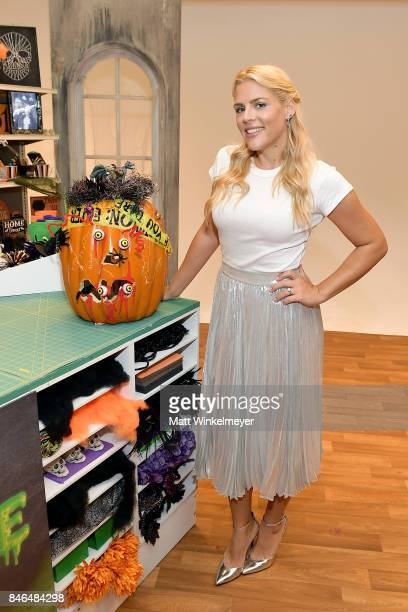 Busy Philipps behind the scenes of Making with Michaels on August 23 2017 in Los Angeles California