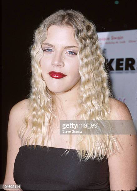 Busy Philipps during The Smokers Premiere at The Green Theatre in Los Angeles California United States