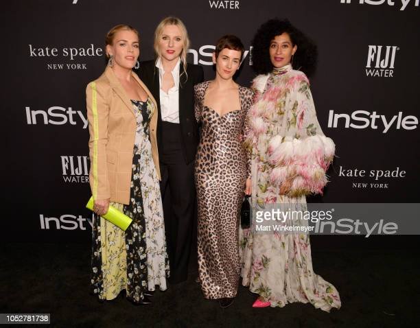 Busy Philipps InStyle Magazine Editor in Chief Laura Brown Karla Welch and Tracee Ellis Ross attend the 2018 InStyle Awards at The Getty Center on...