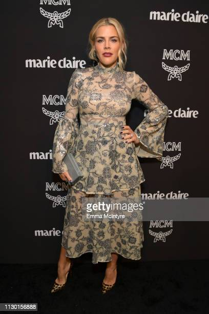 Busy Philipps is seen as Marie Claire honors Hollywood's Change Makers on March 12, 2019 in Los Angeles, California.