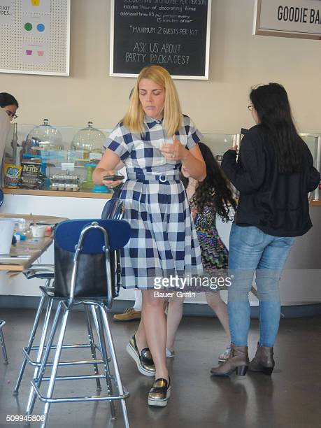 Busy Philipps is seen on February 12 2016 in Los Angeles California