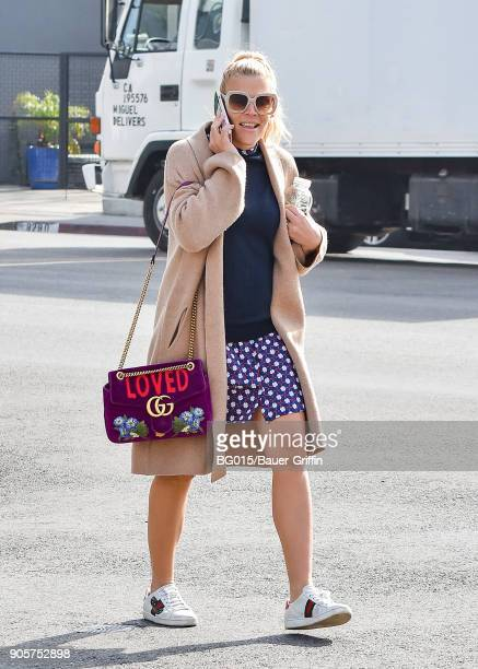 Busy Philipps is seen on January 16 2018 in Los Angeles California