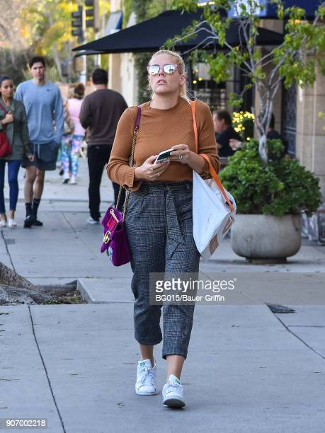 Busy Philipps is seen on January 18 2018 in Los Angeles California