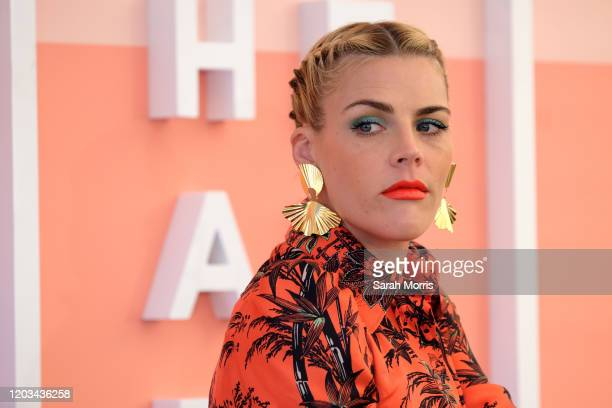 Busy Philipps speaks during #BlogHer20 Health at Rolling Greens Los Angeles on February 01, 2020 in Los Angeles, California.