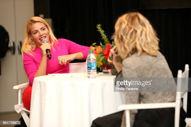 Busy Philipps speaks onstage at the 4th Annual Bentonville Film Festival Day 4 on May 4 2018 in Bentonville Arkansas