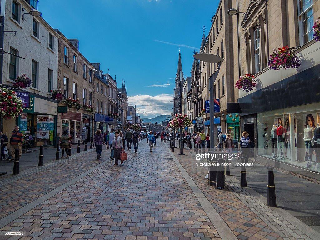 High Street, Inverness, Scotland : News Photo