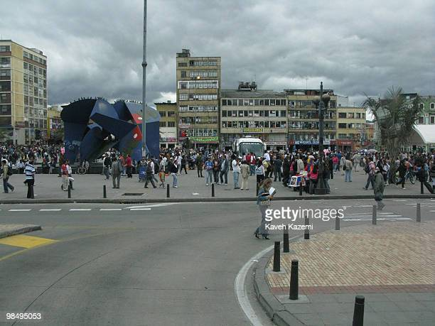 A busy square in Bogota Bogota formerly called Santa Fe de Bogota is the capital city of Colombia as well as the most populous city in the country...