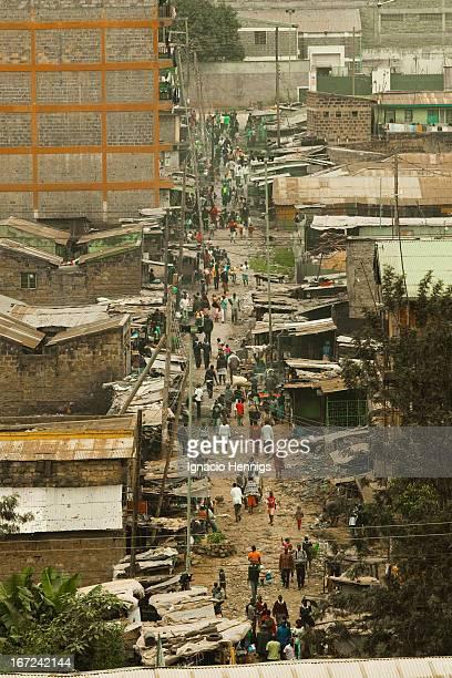 CONTENT] Busy street Kariobangi Nairobi Kenya