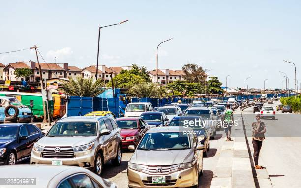 """busy streets of african city - lagos, nigeria - """"peeter viisimaa"""" or peeterv stock pictures, royalty-free photos & images"""