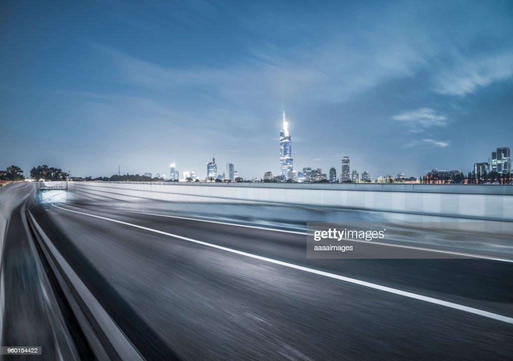 busy traffic in nanjing : Stock-Foto