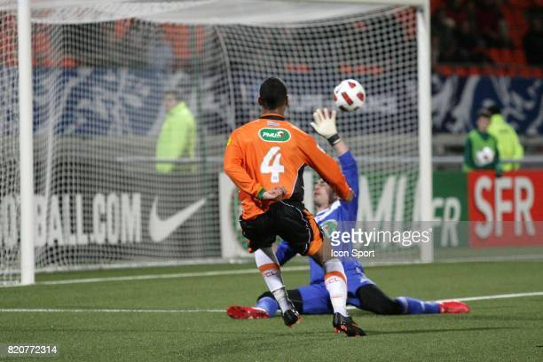 But Alaixys ROMAO / Guillaume GAUCLIN Lorient / Vannes 32e Finale Coupe de France