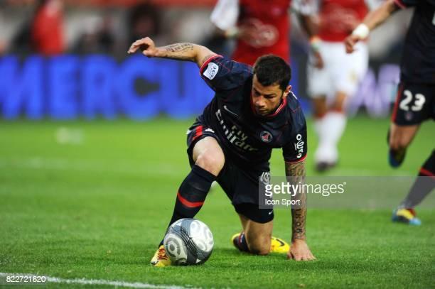 But de Mateja KEZMAN PSG / Valenciennes 36eme journee de Ligue 1 Parc des Princes