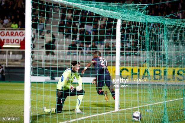 But de Younousse SANKHARE Auxerre / PSG 31eme journee de Ligue 1 Stade de l Abbe Deschamps Auxerre