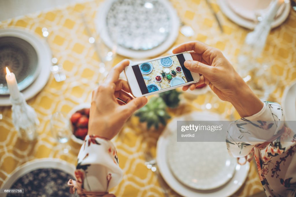 But first photo for social networks : Stock Photo