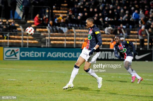 But Guillaume HOARAU Martigues / PSG 1/8 Finale Coupe de France