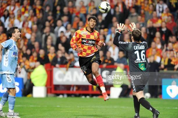 But Issam JEMAA Lens / Strasbourg 31e journee Ligue 2