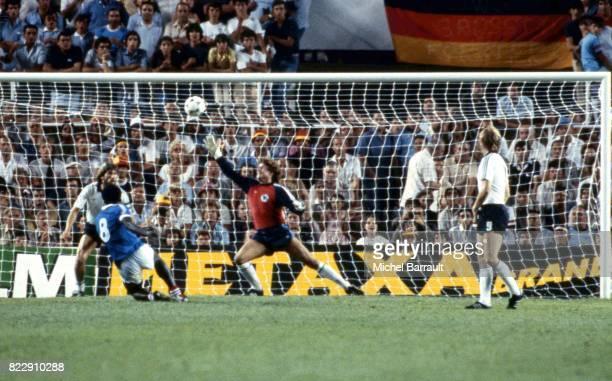 But Marius TRESOR France / Allemagne 1/2 Finale Coupe du Monde 1982 Seville