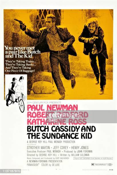 Butch Cassidy And The Sundance Kid poster Paul Newman Robert Redford 1969