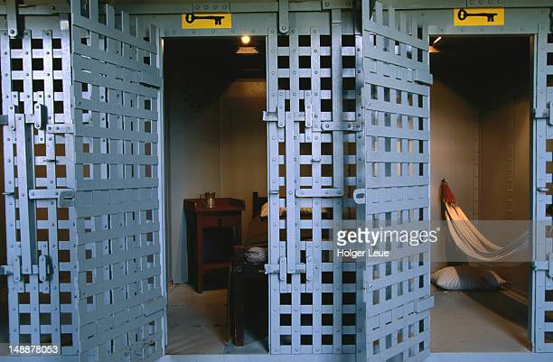 Butch Cassidy's cell at Wyoming Territorial Prison.