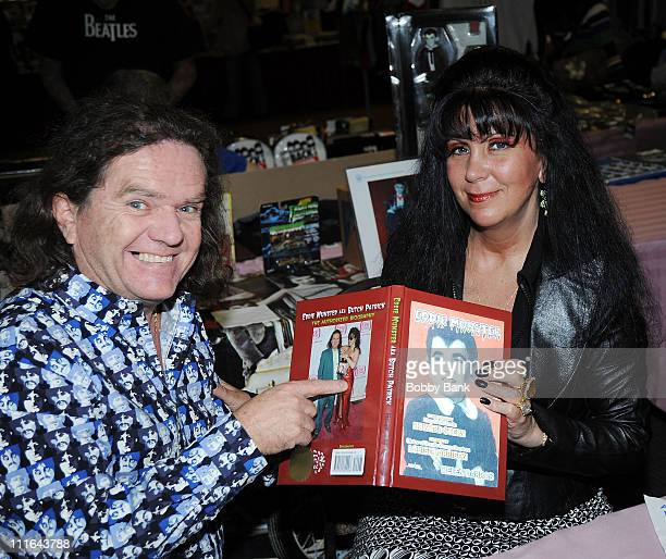 Butch Patrick and author Helen Darras attend the 35th Anniversary of The Fest For Beatles Fans celebration at the Crowne Plaza Meadowlands on March...