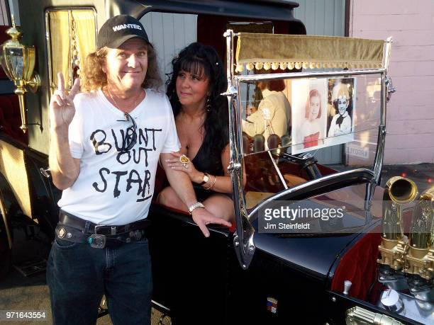 Butch Patrick poses for a portrait at Barris Kustom Industries in North Hollywood California on September 22 2009