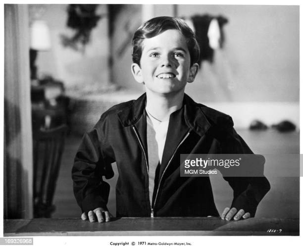 Butch Patrick with a bright and shining smile in a scene from the film 'The Phantom Tollbooth' 1970