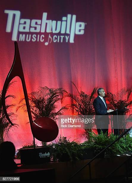 Butch Spyridon President/CEO Nashville CVC attends Nashville's National Tourism Week Hospitality Celebration at Music City Center on May 3 2016 in...
