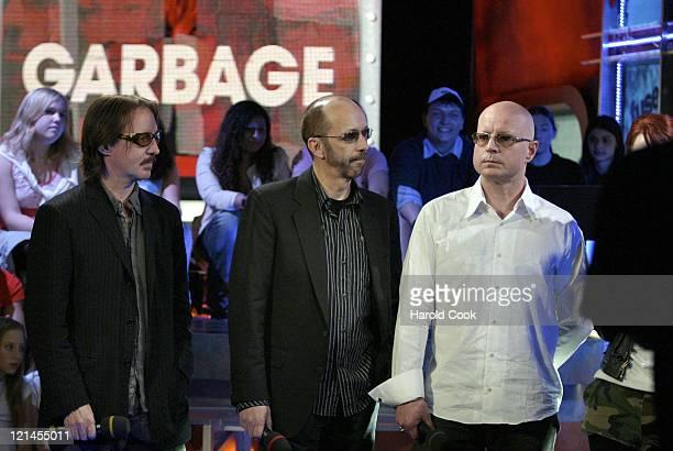 Butch Vig Duke Erikson and Steve Marker of Garbage
