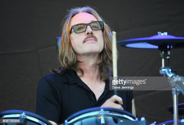Butch Vig of Garbage performs on Opening Night of the Rage And Rapture Tour at The Mountain Winery on July 5 2017 in Saratoga California