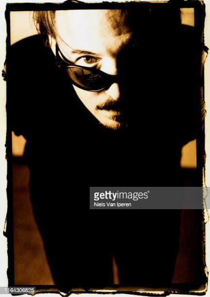 Butch Vig of Garbage portrait Studio Madison WI 17th March 1998