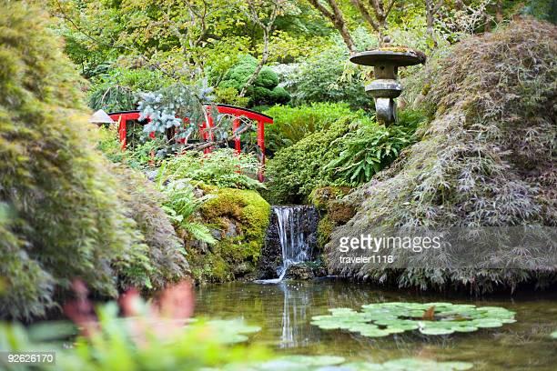 butchart gardens - vancouver island stockfoto's en -beelden