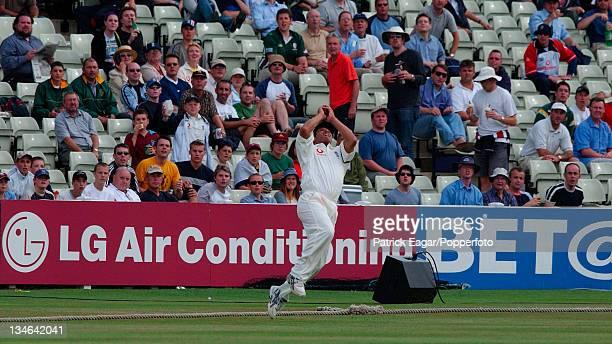 Butcher catches Gibbs England v South Africa 1st Test Edgbaston Jul 03