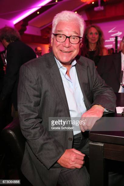 Butcher Magnus Bauch during the piano night hosted by Wempe and Glashuette Original at Gruenwalder Einkehr on April 25 2017 in Munich Germany