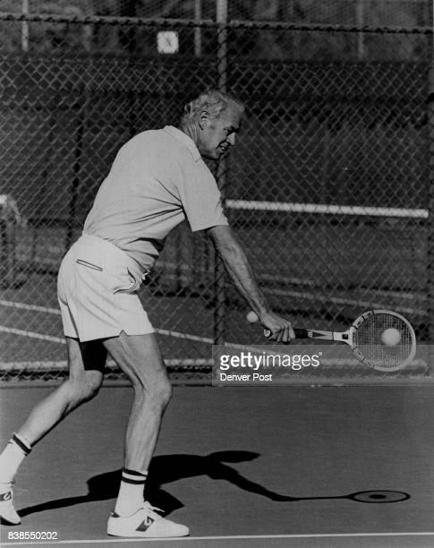 Butler Ade Ind Tennis buff But Tennis is Great Better Than Golf Butler likes being able to get plenty of exercise in 1 1/2 hours Credit Denver Post...