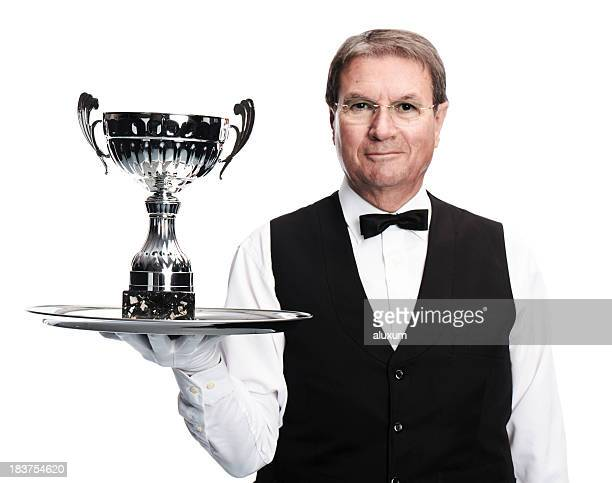 butler and trophy