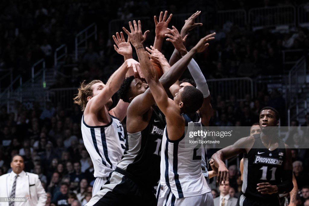 COLLEGE BASKETBALL: FEB 26 Providence at Butler : News Photo