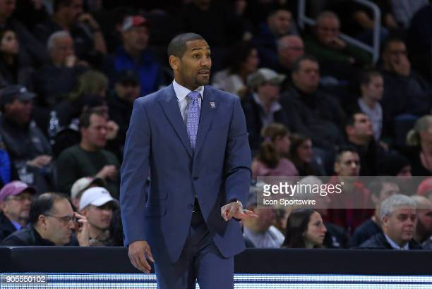 Butler Bulldogs head coach LaVall Jordan during a college basketball game between Butler Bulldogs and Providence Friars on January 15 at the Dunkin...