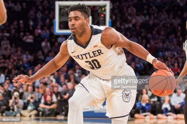 Butler Forward Kelan Martin in action during the quarterfinals of the BigEast Conference basketball tournament between the Butler Bulldogs and the...