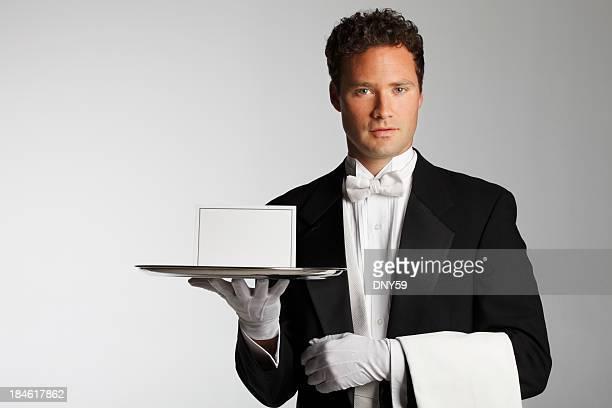 Majordome ou le serveur