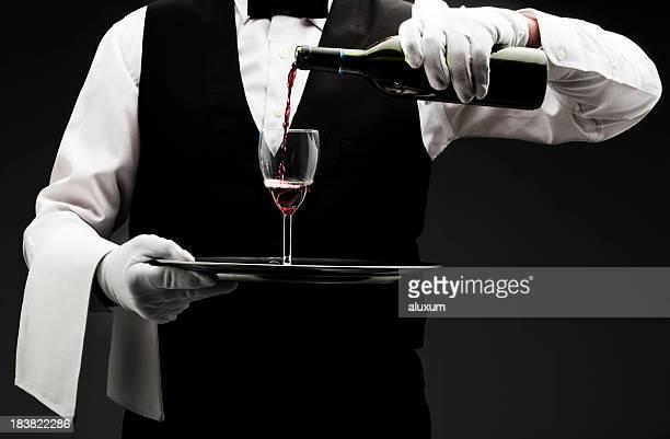 butler gießen Wein