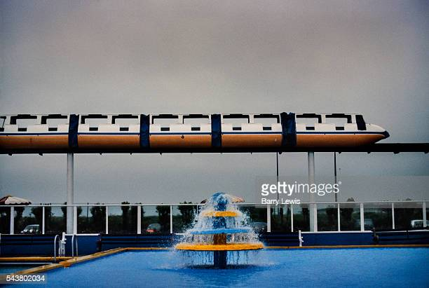 Butlins holiday camp Skegness In 1965 the first commercial monorail system in the UK opens at Skegness as a pleasure ride It was built using 320...