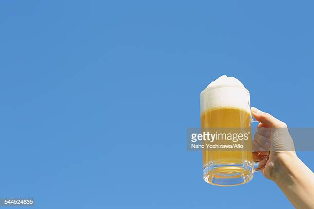 butter beer - beer stein stock photos and pictures