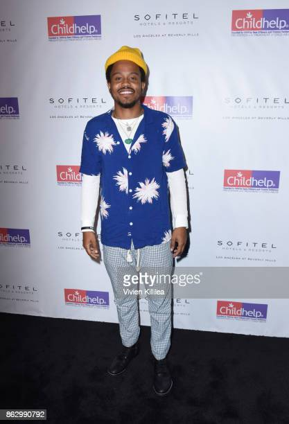 Buttercream attends Childhelp Hollywood Heroes on October 18 2017 in Beverly Hills California