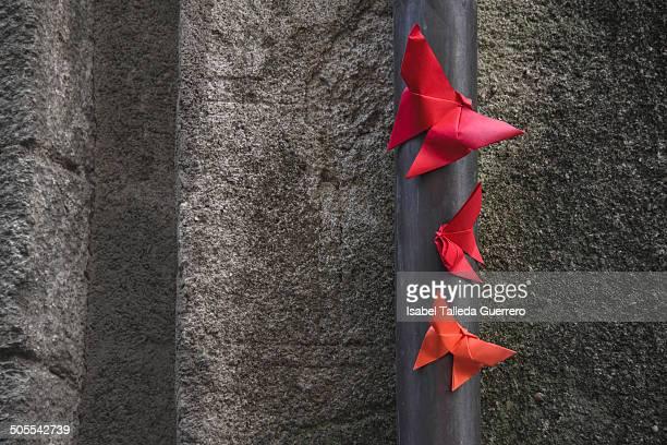 Butterflies origami