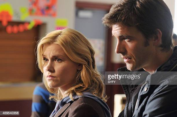 HAVEN 'Butterfly' Pictured Emily Rose as Audrey Parker Lucas Bryant as Nathan Wournos Photo by Chris Reardon/Syfy