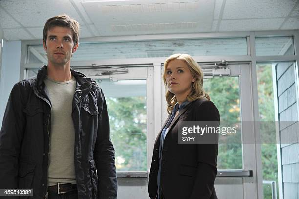 HAVEN 'Butterfly' Pictured Lucas Bryant as Nathan Wournos Emily Rose as Audrey Parker Photo by Chris Reardon/Syfy