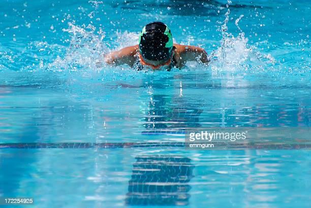 Schmetterlings-Schwimmer