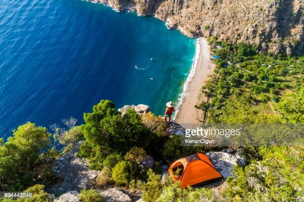Butterfly valley from Oludeniz. Fethiye / Turkey.