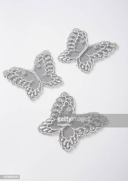 Butterfly-shaped lace